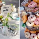 wedding donut bars