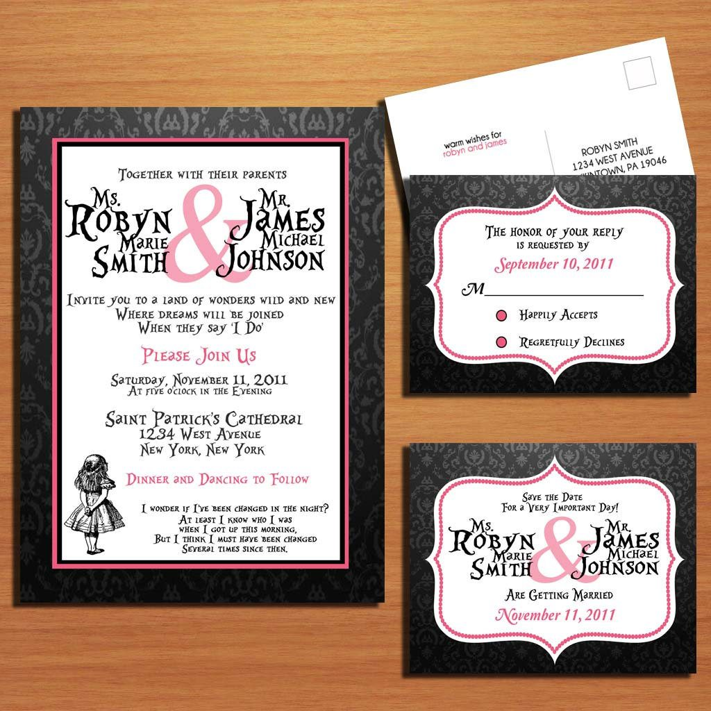 Wedding Invitation Rsvp Date Wording - Wedding Invitation Ideas